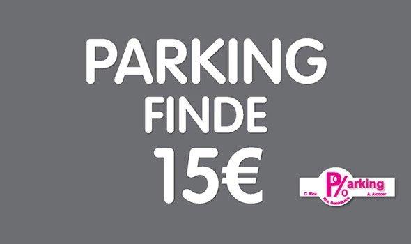 PAKING FINDE 15 €Ven a parking RDOMINICANA y lo comprobarás