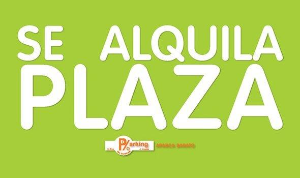 ALQUILER DE PLAZAS POR MESES Plazas con vigilancia,bien iluminadas y a un precio increible.